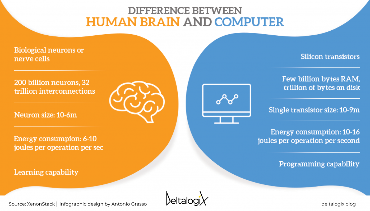 Human Brain VS Computer